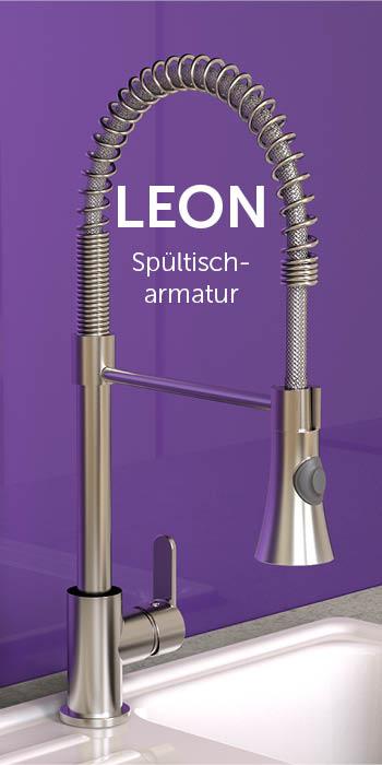 Leon Spültischarmatur